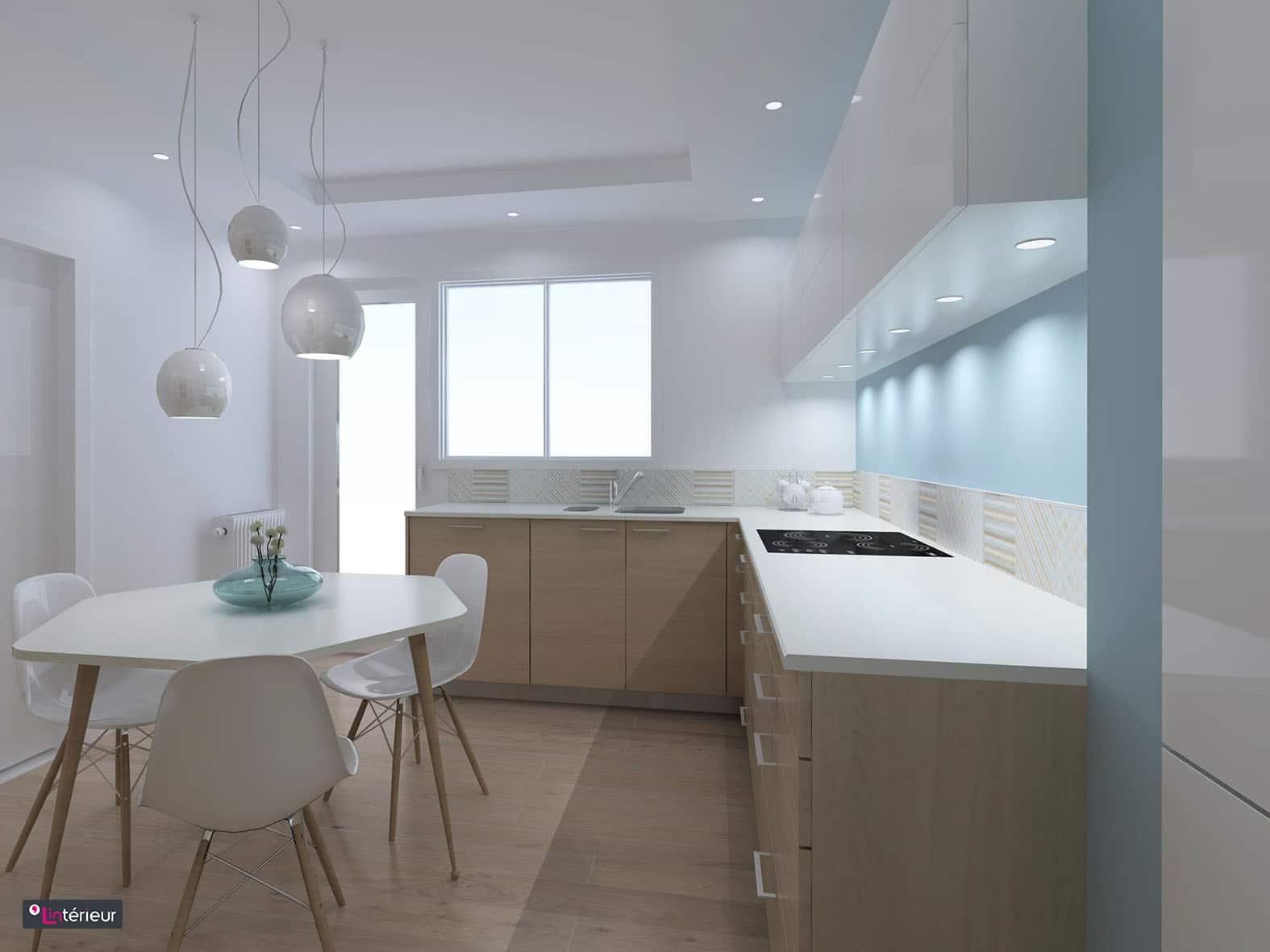 Cuisine esprit scandinave l 39 int rieur architecte d - Cuisine architecte d interieur ...