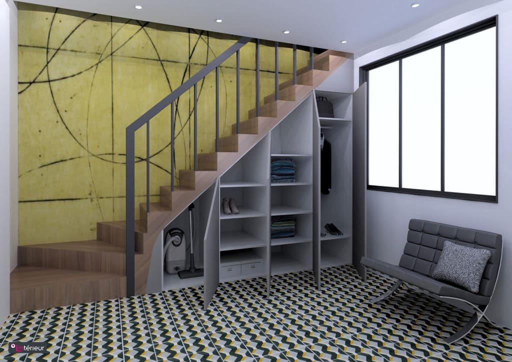 Rangement Sous Escalier Nantes L Interieur Architecte D