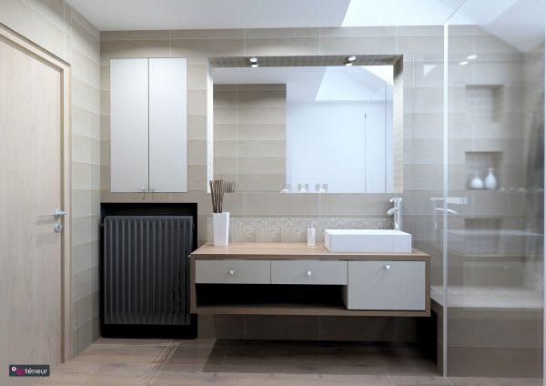 La salle de bain compacte