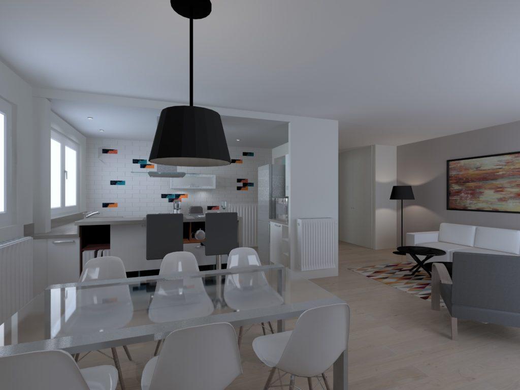 aménagement appartement - L'intérieur Nantes