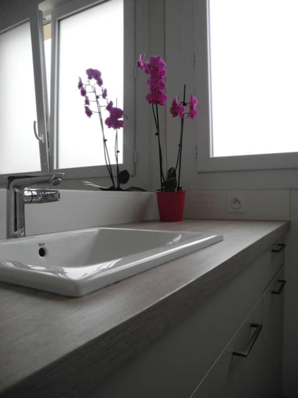 La salle de bain fonctionnelle